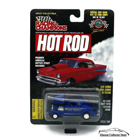 1932 Ford Coupe #97 Racing Champions Hot Rod Magazine Diecast 1:54 FREE SHIPPING