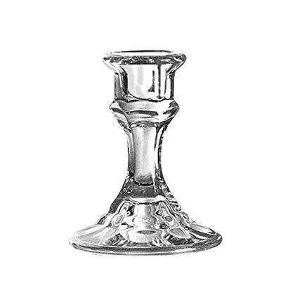 Glass Tall Holder (Beautiful Libbey Glass 4