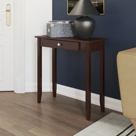 Dhp Rosewood Console Table Coffee Brown