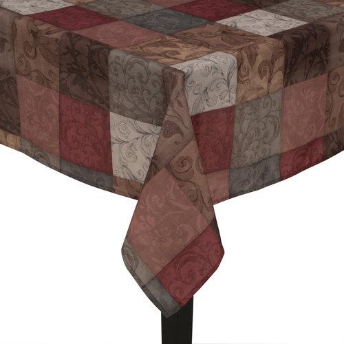 Mainstays Tuscany Fabric Tablecloth