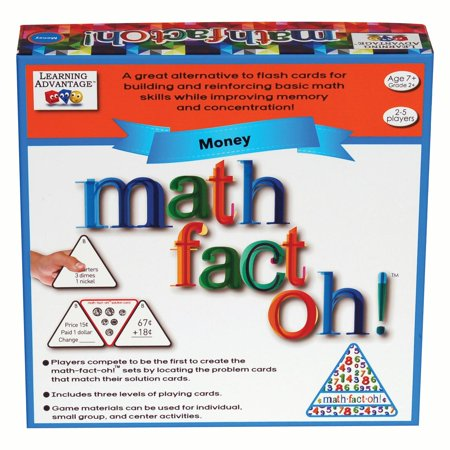 Learning Advantage™ Math-Fact-Oh!™ Money Game Learning Advantage Games