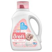 Dreft Newborn 64 Loads Baby Liquid Laundry Detergent, 100 fl oz