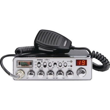 UNIDEN PC78LTX 40-Channel CB Radio (With SWR Meter) by