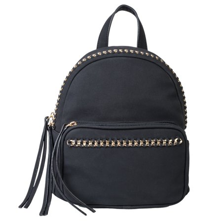 Dot Dash - Dot Dash Fashion Mini PU Leather Backpack Shoulder Bag Womens  Rucksack (Erin f9f5c5e640903