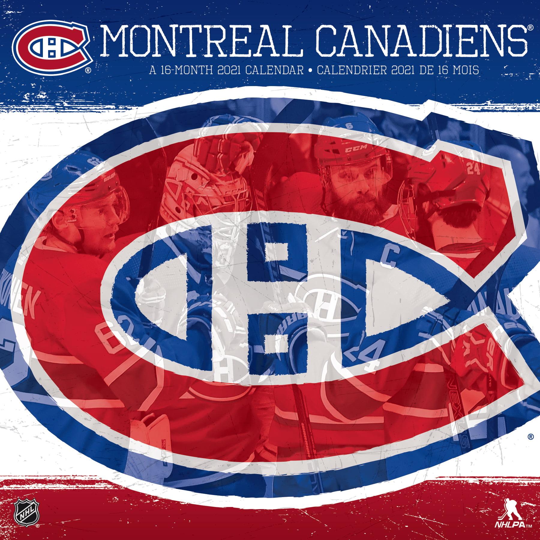 2021 Montreal Canadiens Wall Calendar Walmart Com Walmart Com
