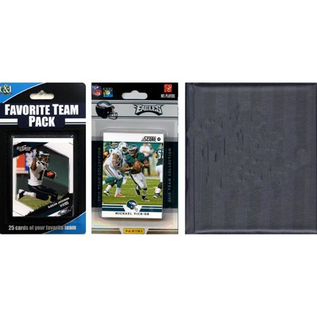 C&I Collectables NFL Philadelphia Eagles Licensed 2012 Score Team Set and Favorite Player Trading Card Pack Plus Storage Album