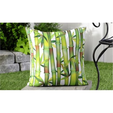 Giftcraft 705849 18 X 18 Inch Weather Resistant Bamboo Shoots