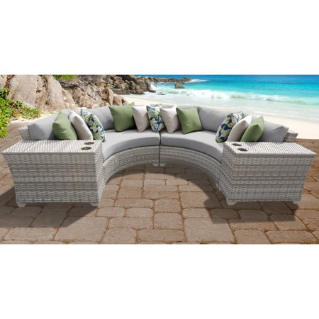 TK Classics Fairmont 04c Outdoor Sectional Sofa