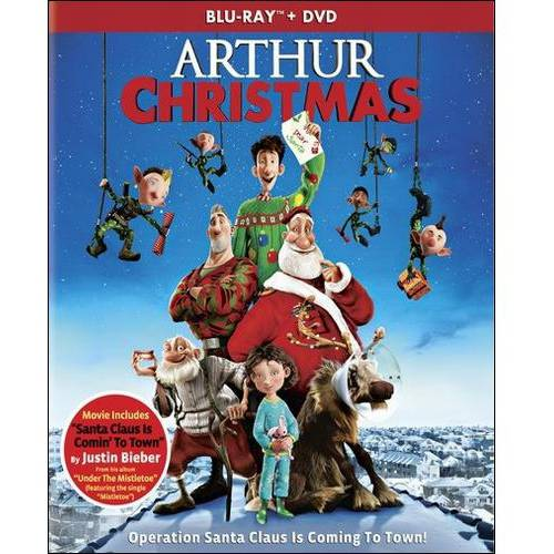 Arthur Christmas (Blu-ray + DVD) (With INSTAWATCH) (Widescreen)