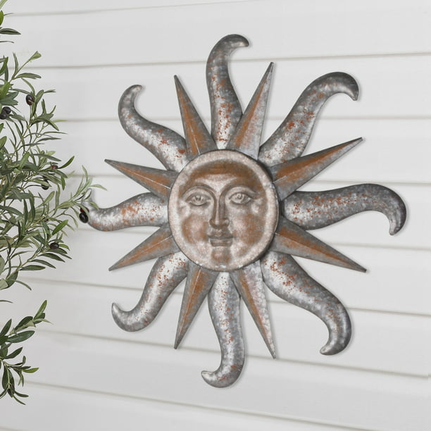 Better Homes Gardens Outdoor, Large Outdoor Sun Wall Hanging