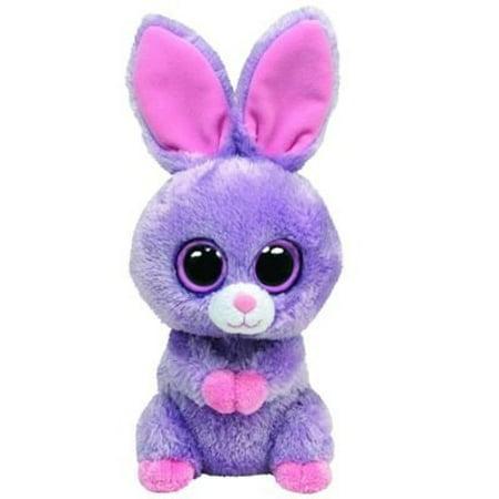 Ty Beanie Boos Petunia Purple Bunny