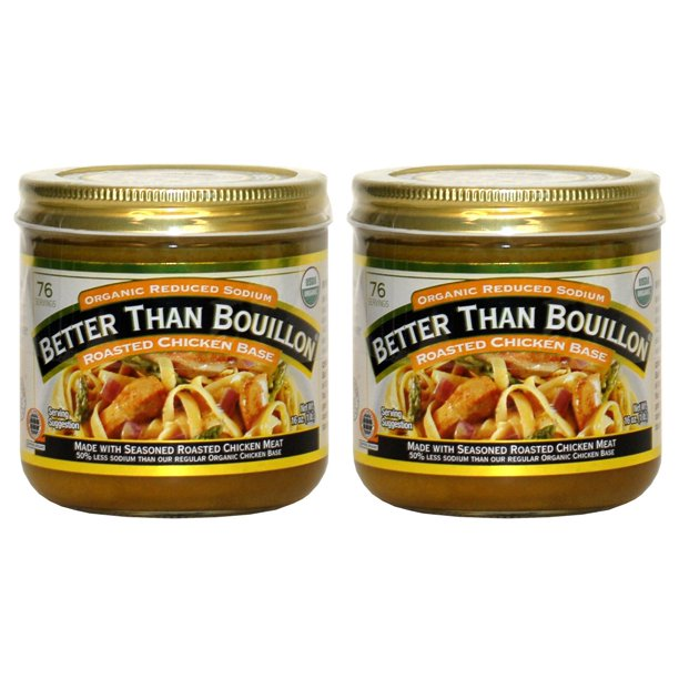 Better Than Bouillon Organic Roasted Chicken Base, Reduced ...