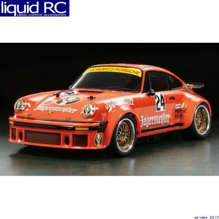 Tamiya 1824141 RC Body: TA02SW Porsche Turbo RSR Type 934 Jagermeister 1:10 (Tamiya Kubelwagen Type)