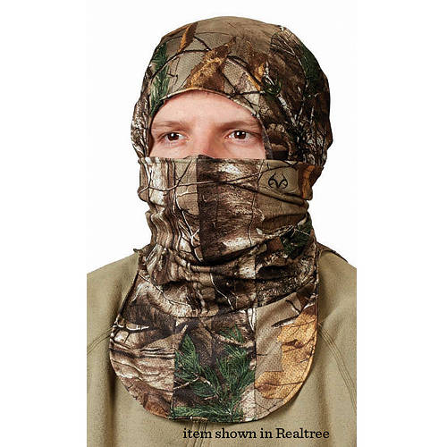 Hunter's Specialties Scent-A-Way Silver Spandex Balaclava, Infinity, Heavyweight/One Size