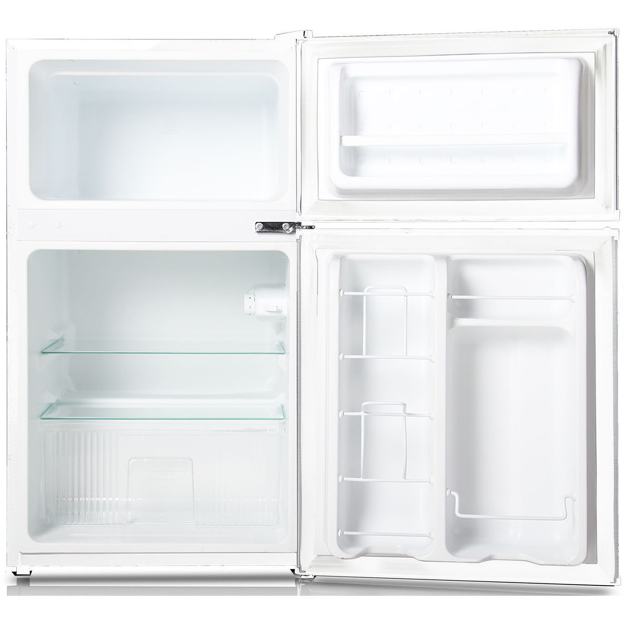Nice Ft. Compact 2 Door Refrigerator/Freezer, White, KSTRC312CW   Walmart.com