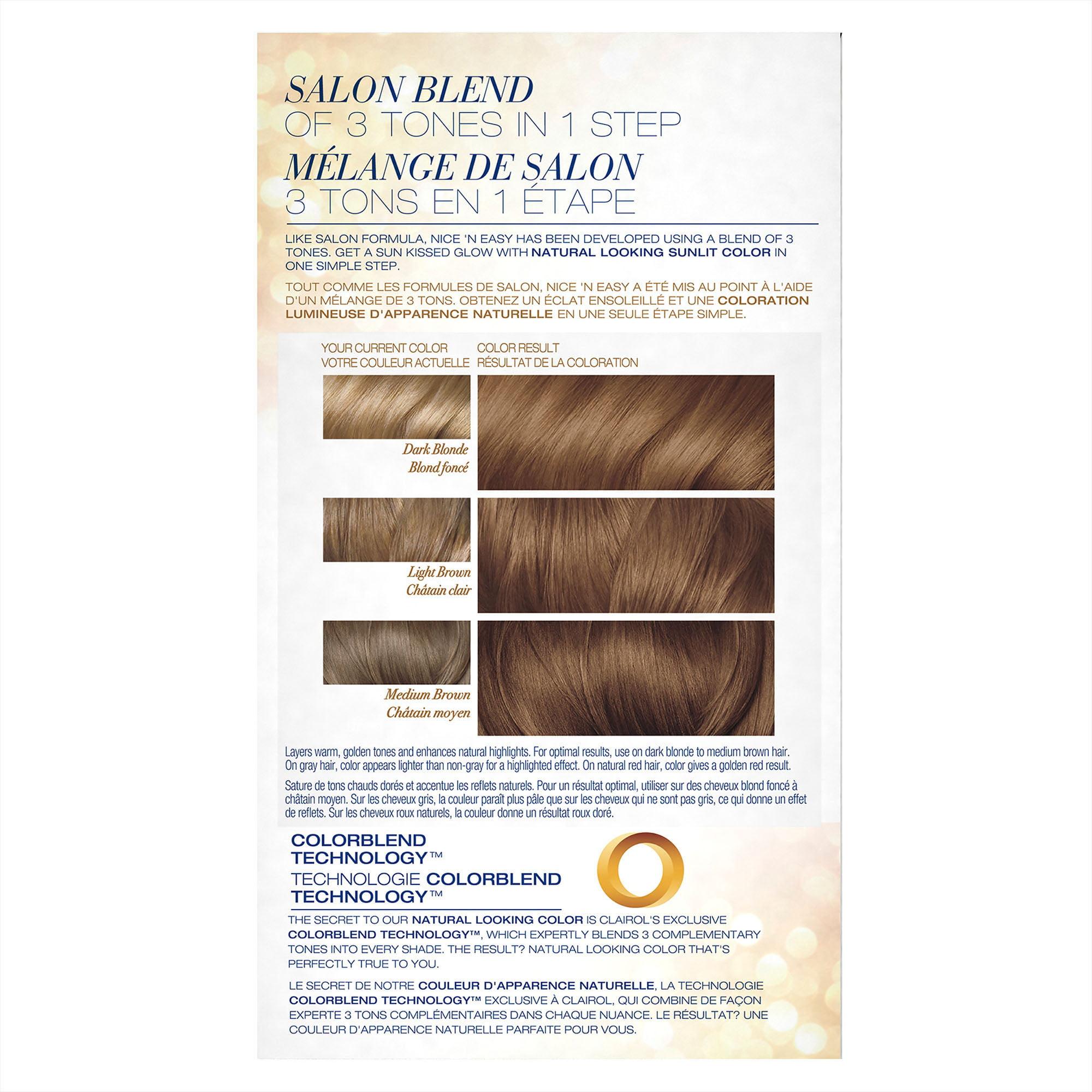 Clairol Nice N Easy Sun Kissed Permanent Hair Color 8sc Sandy