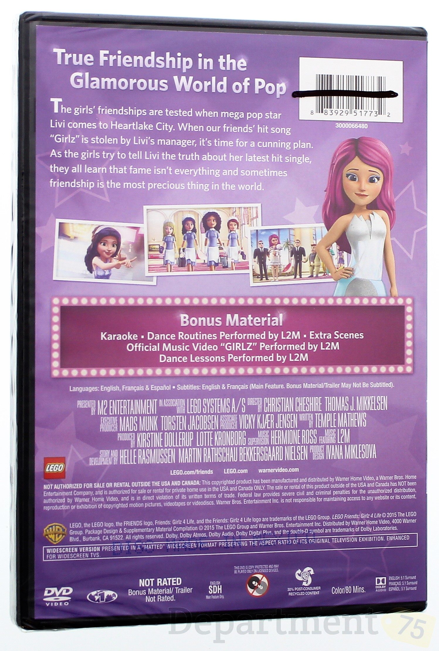 Lego Friends Girlz 4 Life Dvd Walmartcom