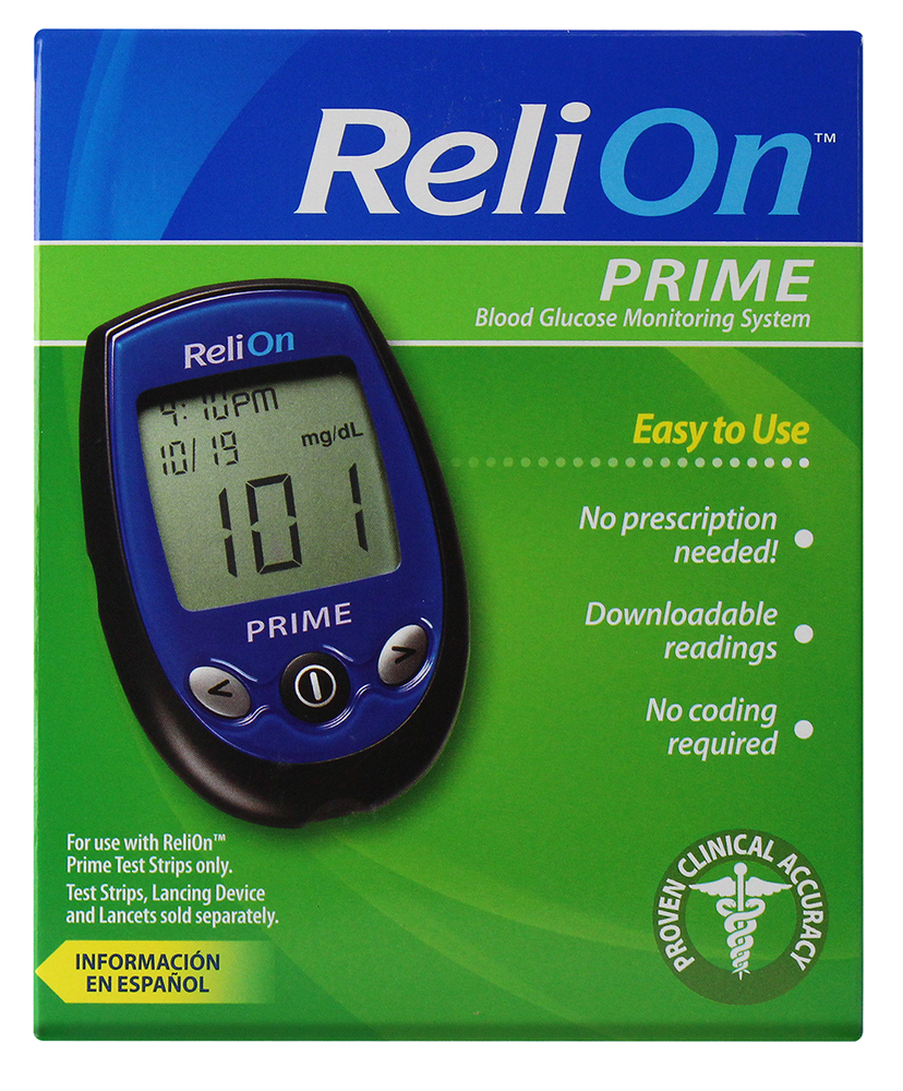 coupon for relion glucose meter