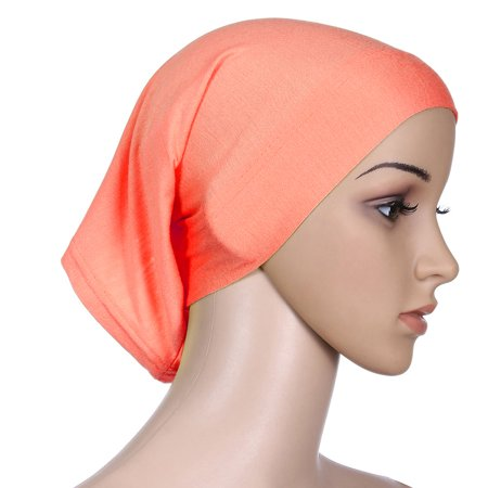 Bone Hat Band - KABOER 15 Colors Muslim cap and headband Scarf Under Scarf Hijab Tube Bonnet Bone Chemo Hat