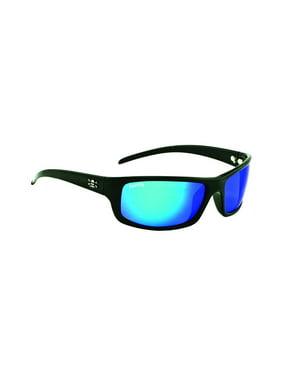 f19dc505c09 Product Image Calcutta Prowler Sunglasses Shiny Blk Blue Mirror