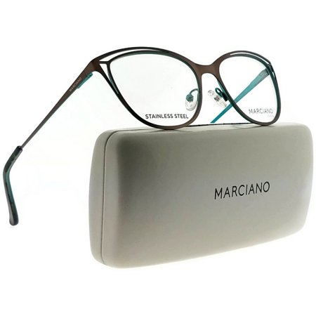 Guess By Marciano GM0311-049-52 Cat Eye Womens Brown Frame Clear Lens  Eyeglasses - Walmart.com c0a428a749c7b