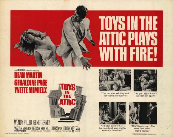 Toys in the Attic POSTER Movie Half SHeet A (22x28) by Pop Culture Graphics