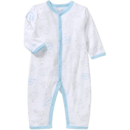 b042374eb Rene Rofe - Newborn Baby Boy One Piece Coverall - Walmart.com