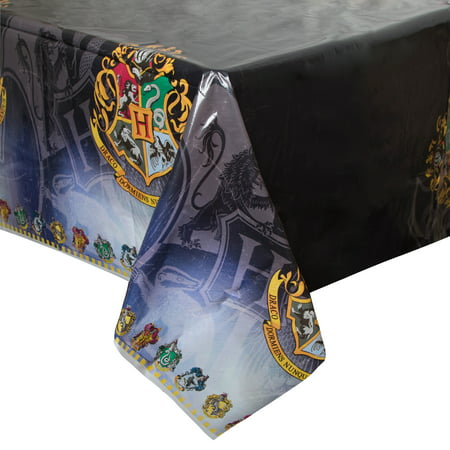 Harry Potter Plastic Party Tablecloth, 84 x 54in](Harry Potter Party Ideas)