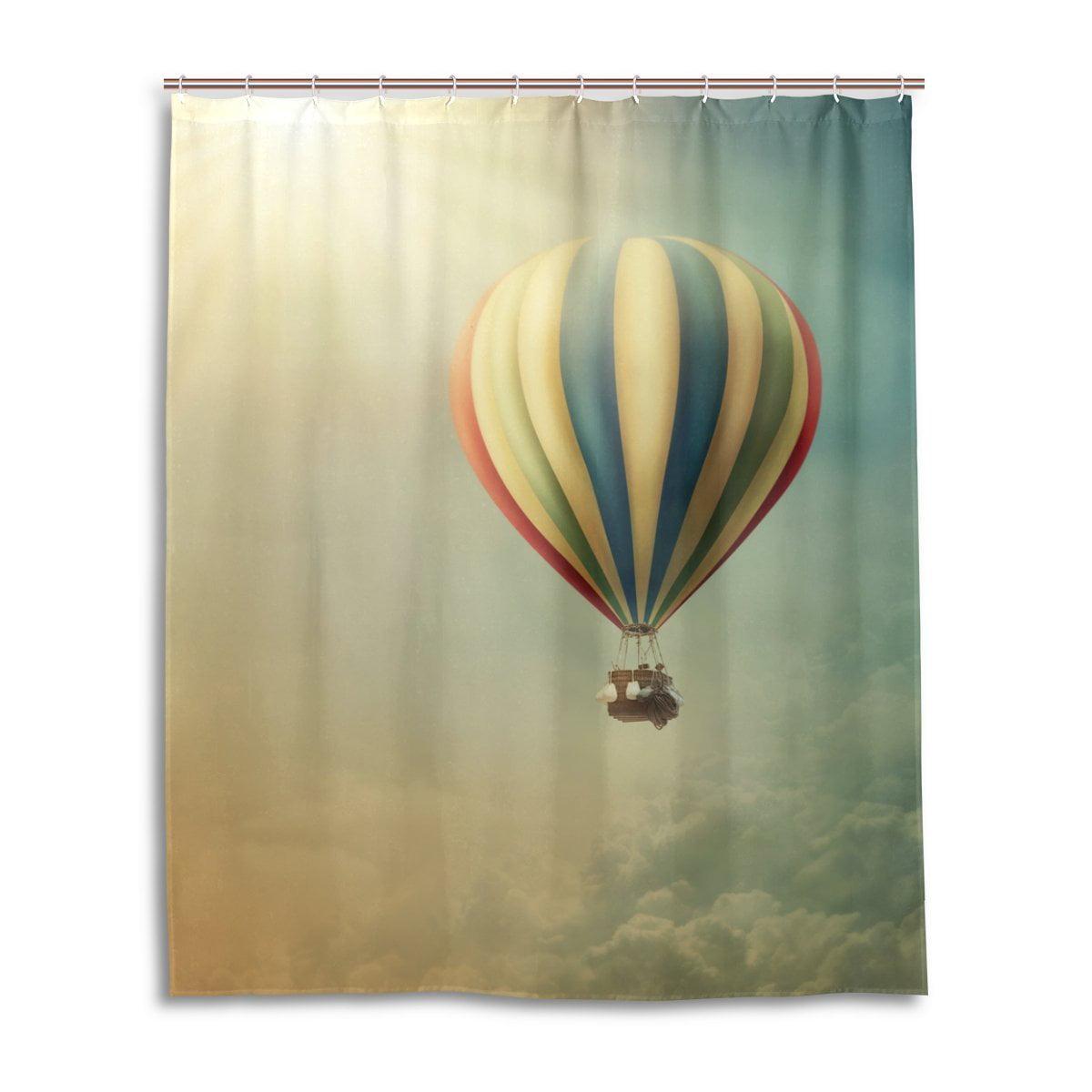 Popcreation Bathroom Hot Air Balloon, Hot Air Balloon Bathroom Decor