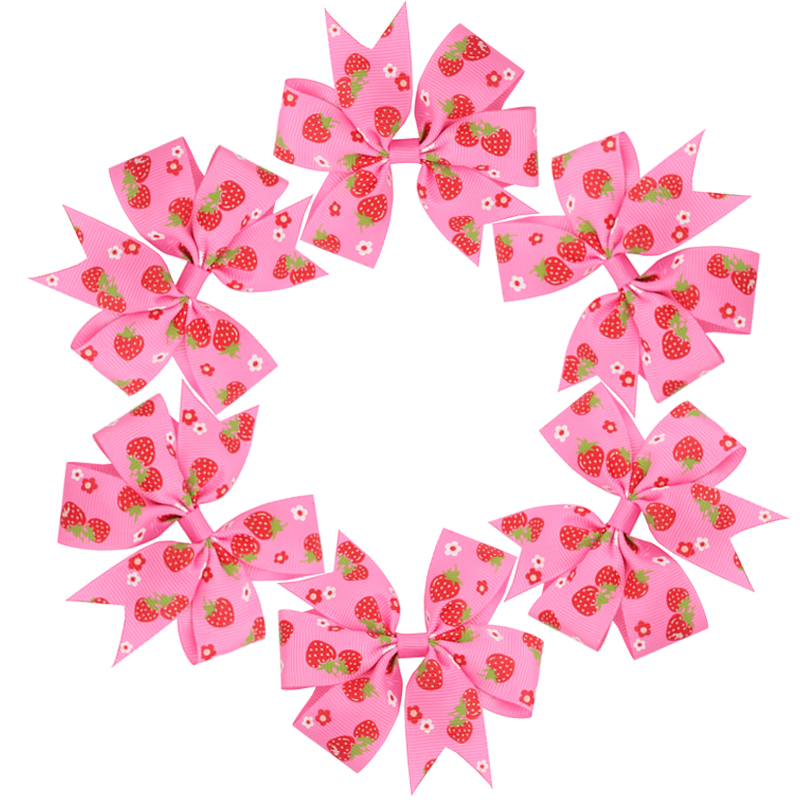Coxeer 40Pcs Ribbon Hair Bows Clips Hairpin Hair Accessories for Baby Girls Kids Teens Toddlers Children by Coxeer