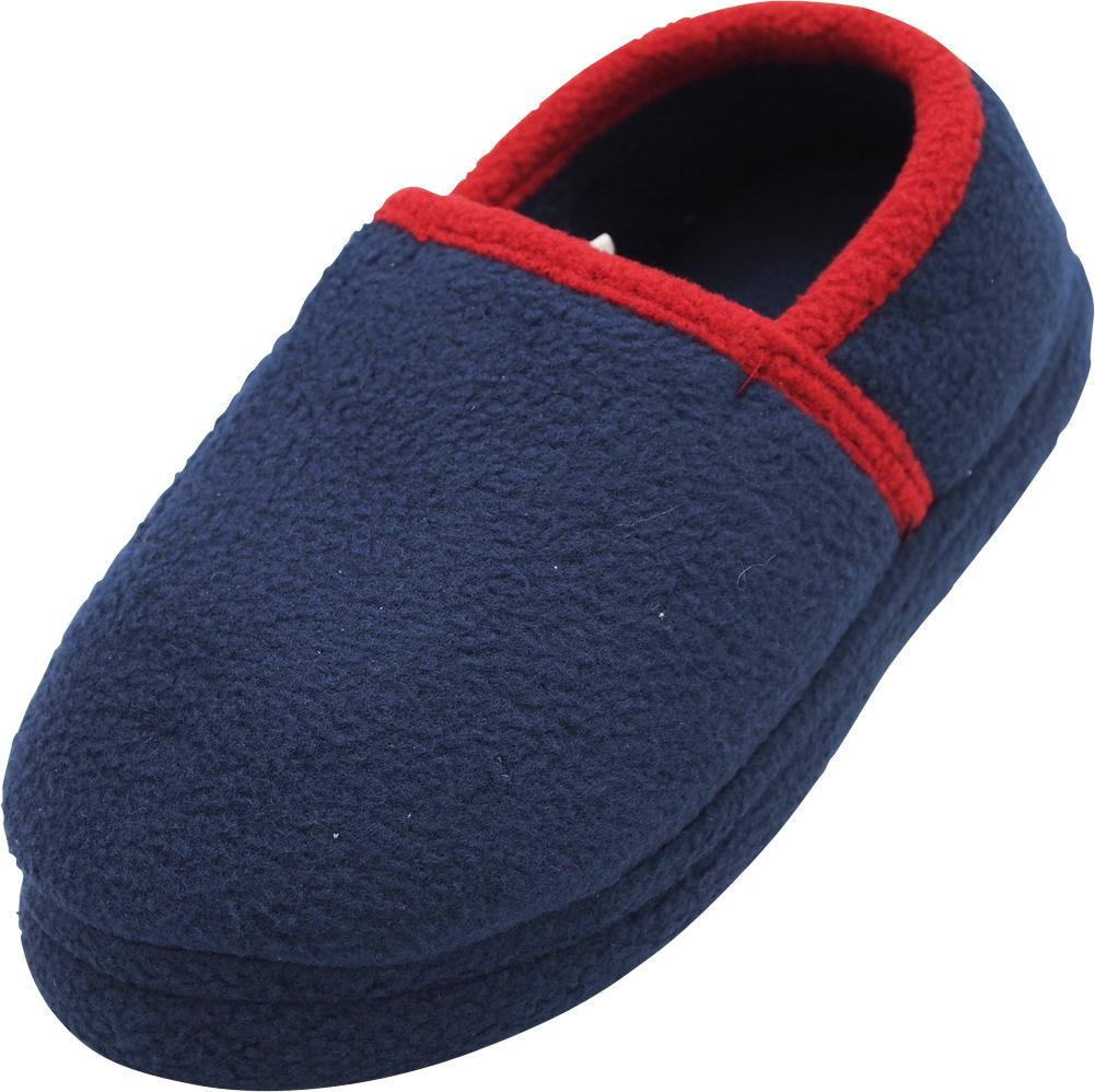 845945d6e NORTY - Norty Toddler Boys Kids Fleece Memory Foam Slip On Indoor ...