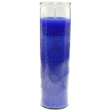 Star Candle 8-Inch Candle Blue