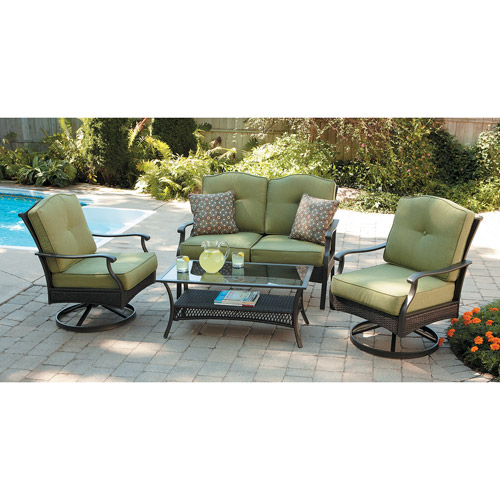 Providence 4-Piece Motion Conversation Set, Green