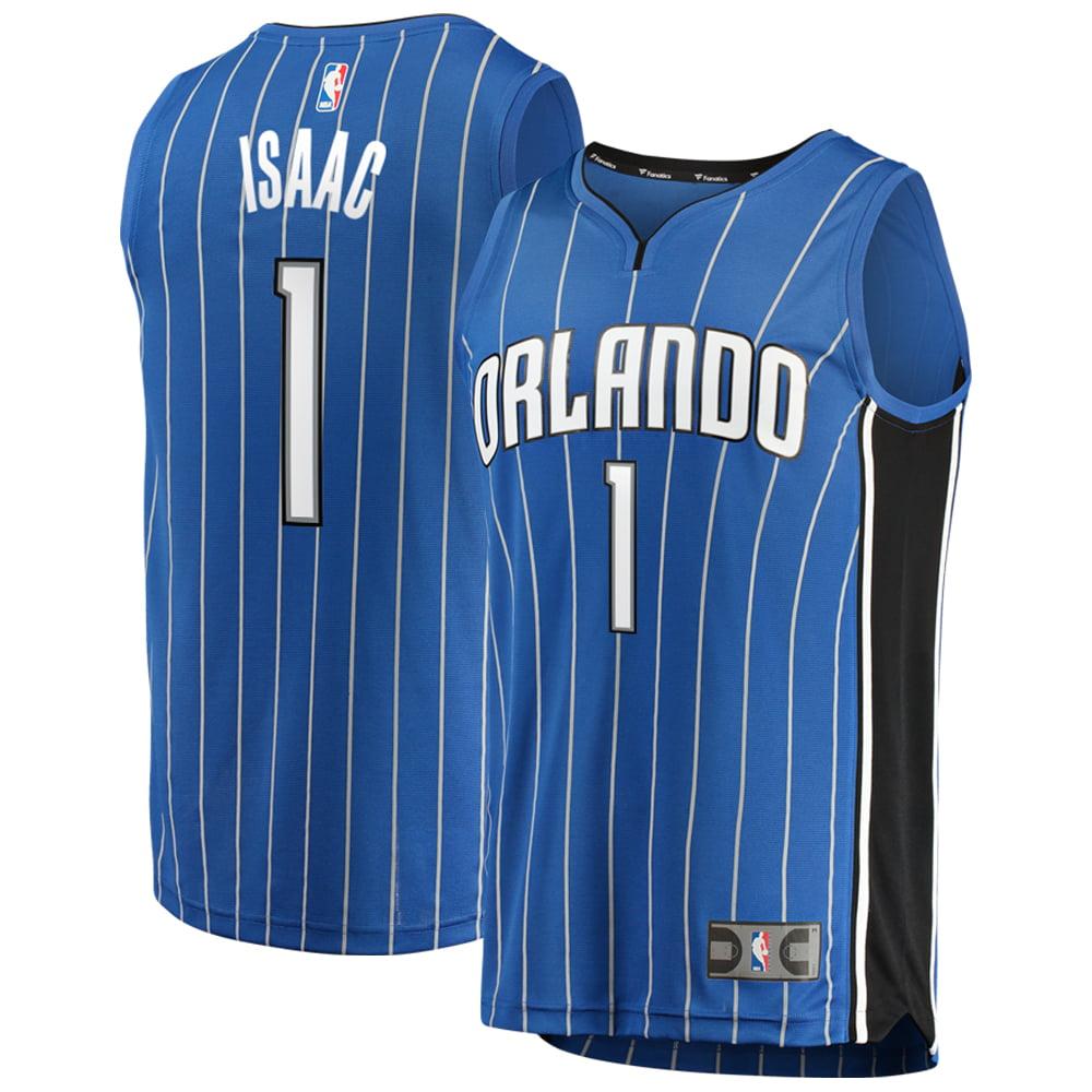 390cfcfc58c Orlando Magic Jonathan Isaac Fanatics Branded Youth Fast Break Player Jersey  - Icon Edition - Blue - Walmart.com