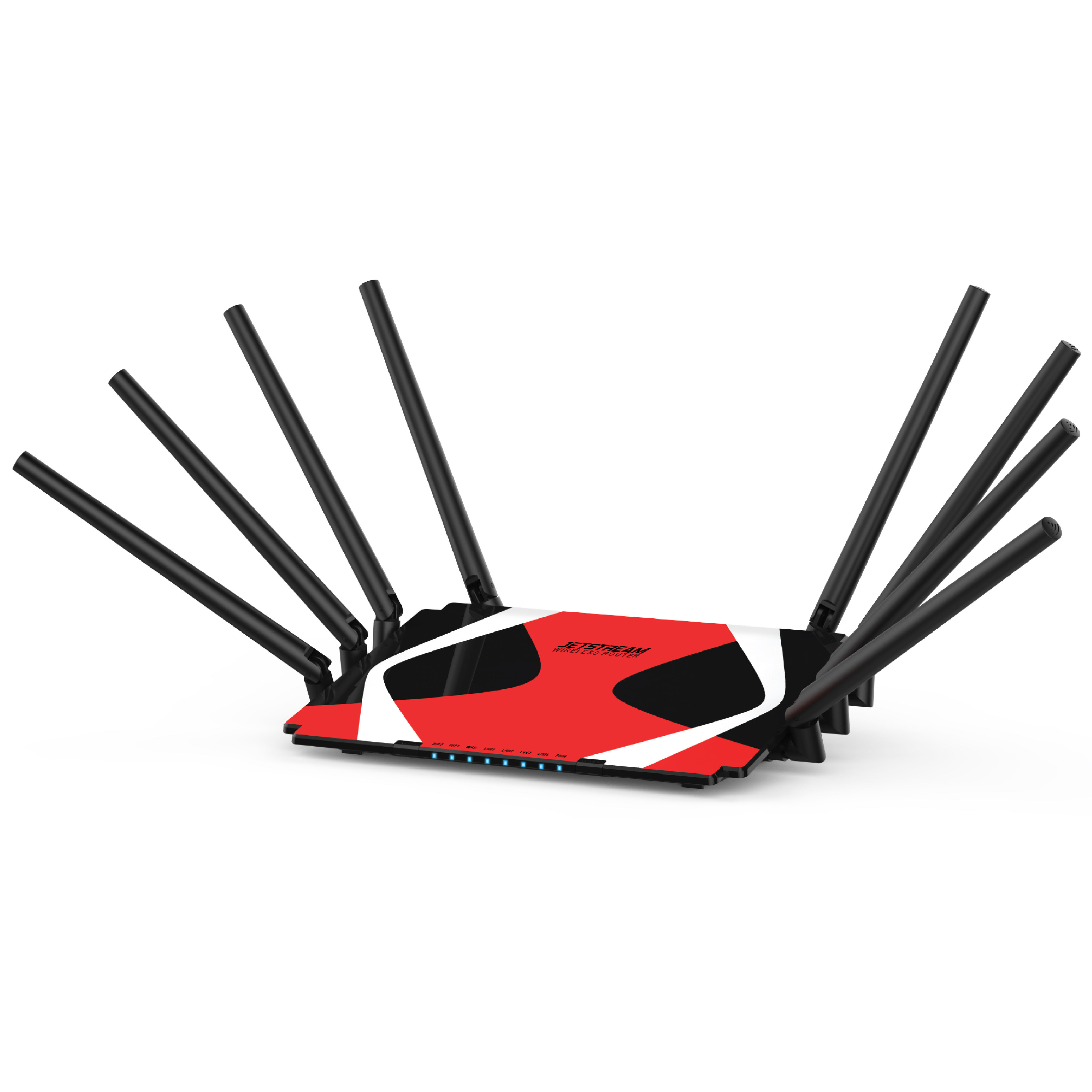 Jetstream AC3000 Ducati Tri-Band Wi-Fi Gaming Router with 1 GB RAM and 800 MHz Dual-Core Processing - Walmart Exclusive!