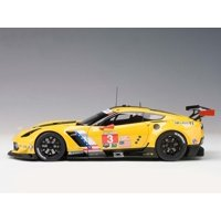Chevrolet Corvette C7 R #3 Lime Rock 2016 2nd Place Antonio Garcia / Jan Magnussen 1/18 Model Car by Autoart