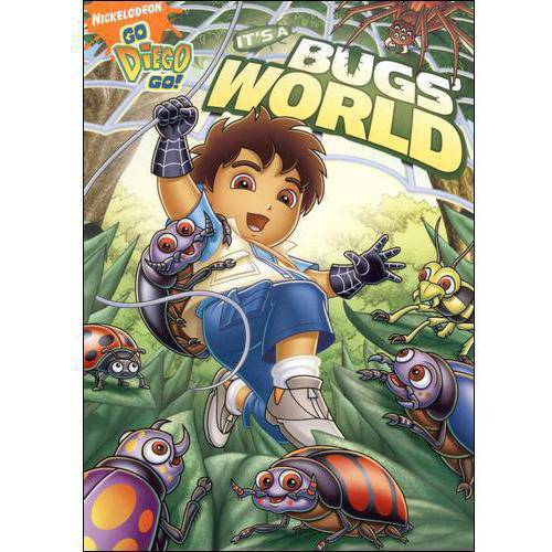 Go Diego Go-its A Bugs World [dvd] (paramount Home Video)