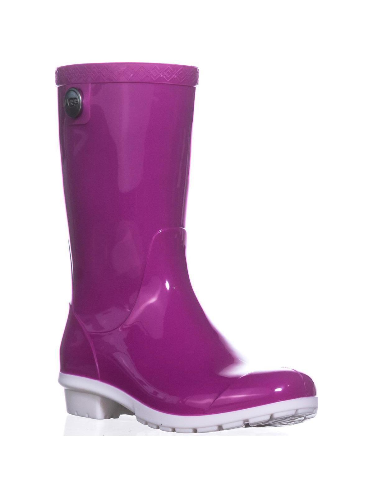 e503b68ee38 UGG Australia Sienna Mid-Calf Rain Boots, Neon Pink
