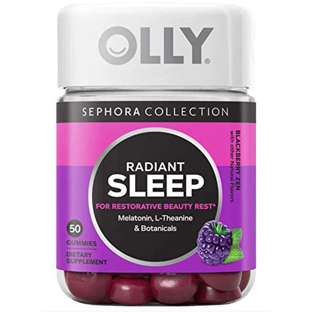 Olly Radiant Sleep Gummy Vitamins Formulated With Melatonin L