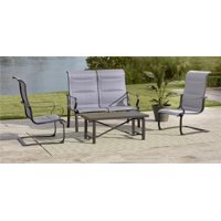 COSCO Outdoor Living SmartConnect Patio Sets with Padded Motion Chairs, Multiple Colors and Configurations