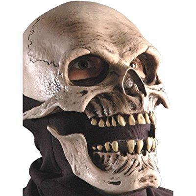 Death Latex Mask Adult Halloween (Halloween 5 Mike's Death)