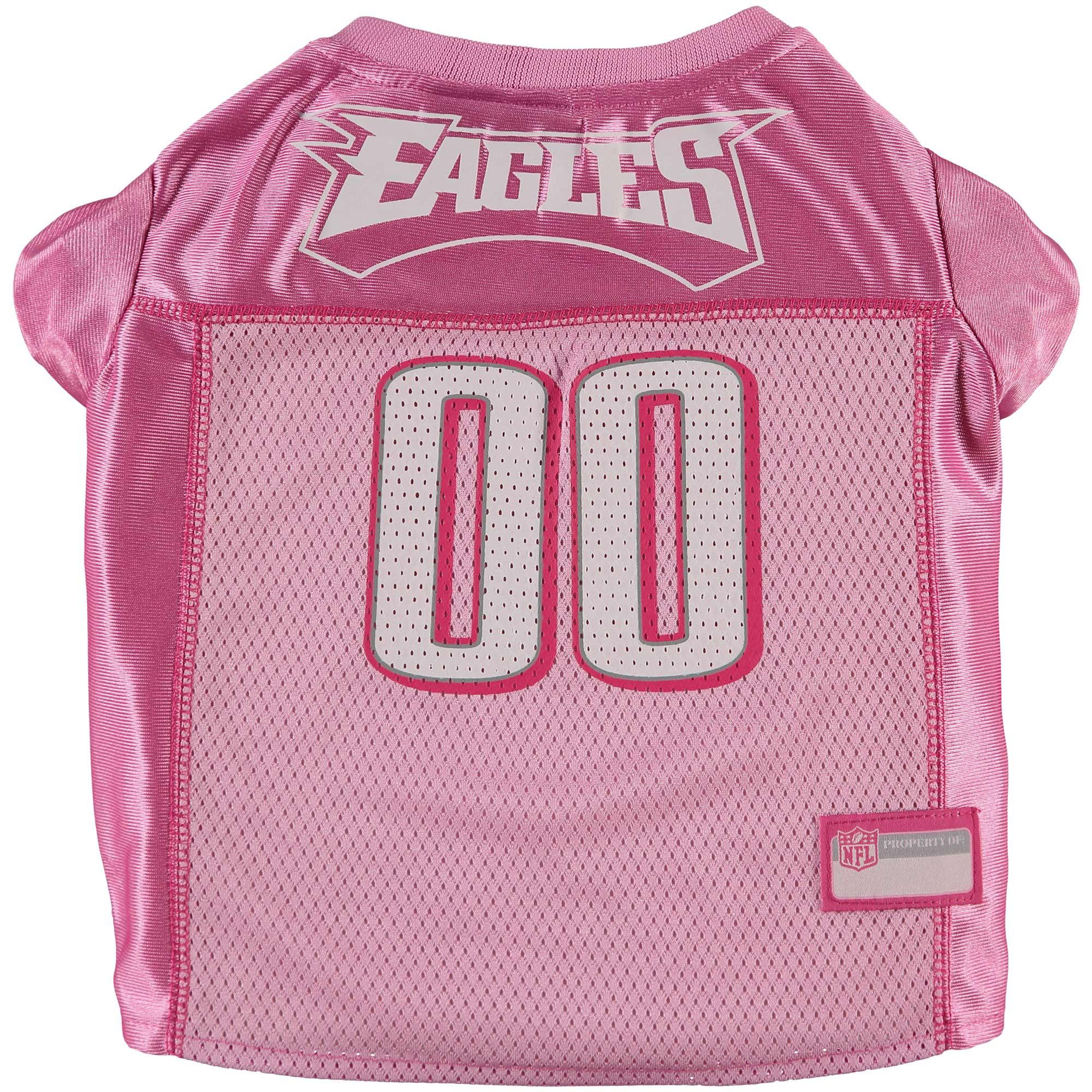 pretty nice dbda1 7499a Philadelphia Eagles Mesh Dog Jersey - Pink