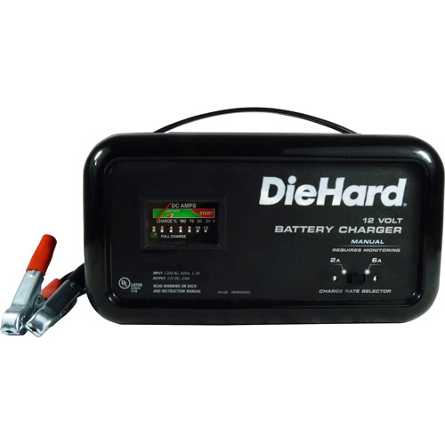 Diehard 6/2 AMP Manual Battery Charger