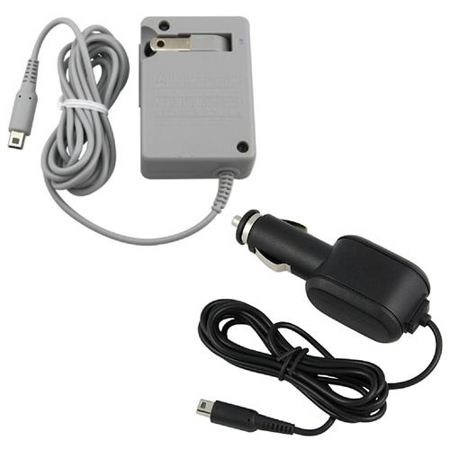 Insten Car+ AC Home Wall Charger For New NINTENDO 3DS / 3DS XL / LL / DSi / DSi LL / XL