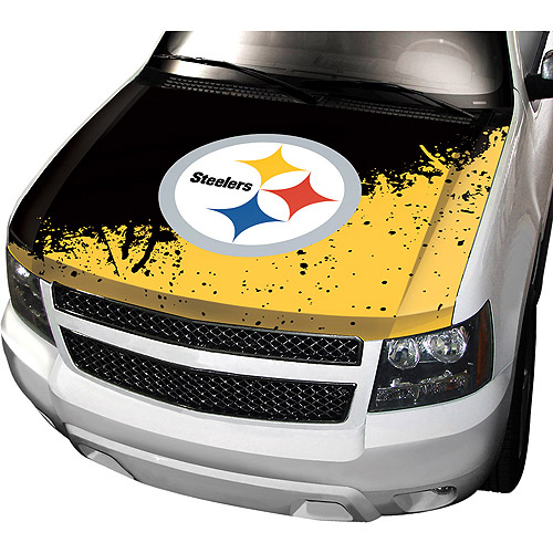 Pittsburgh Steelers NFL Auto Hood Cover