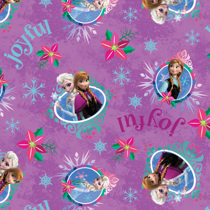 FrozenSisters Merry & Joyful 43/44 Inch Wide 100% Cotton D/R