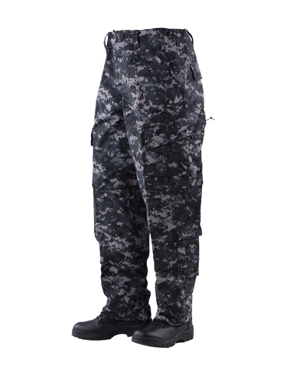 TRU Trousers Urban Digital 50/50 Nylon, Cotton Rip-Stop, XLarge Short