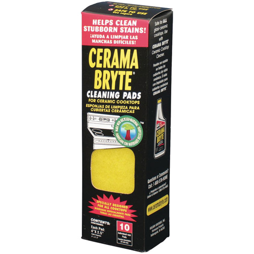 Cerama Bryte Ceramic Cooktop Cleaning Pads, 10-Pack