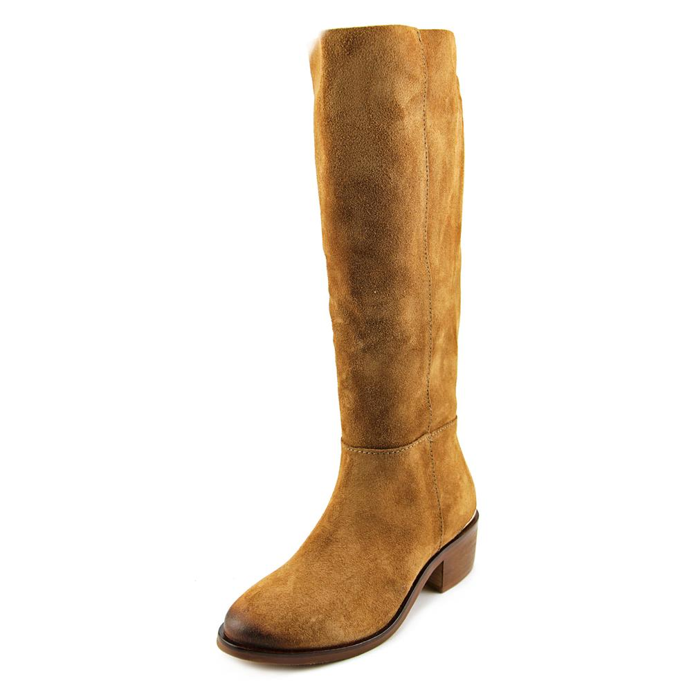 Naughty Monkey Stride Women Tan  Round Toe Leather Tan Women Knee High Boot f907c4