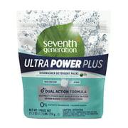 Seventh Generation Ultra Power Plus Dishwasher Detergent Packs, Fresh Citrus, 43 count
